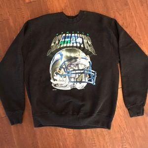 Vintage '94 Seattle Seahawks Sweatshirt